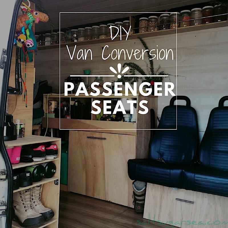 DIY Van Conversion Seats Installing Passenger Seating