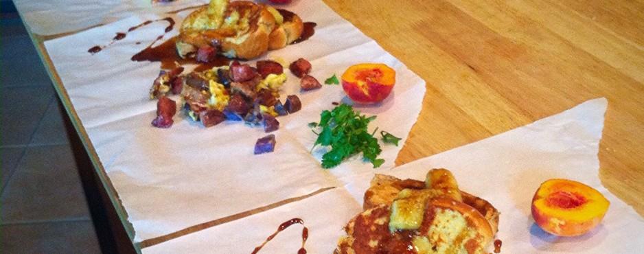 Texas BBQ Breakfast Scrambled Eggs with Cilantro