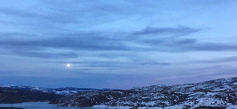 Park city Utah sunset